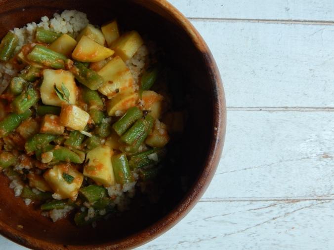 Vegetraian stew